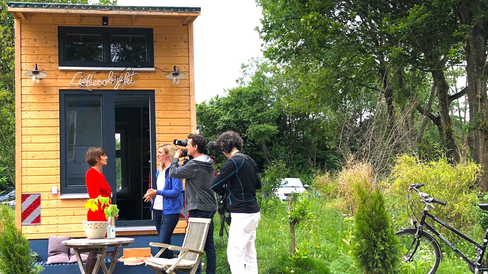 Das Tiny House in Utting am Ammersee