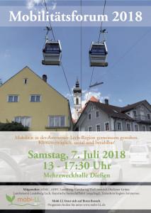 Mobilitätsforum 2018 Diessen