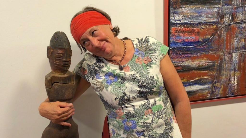 Keramikkünstlerin Angelika Paschmann