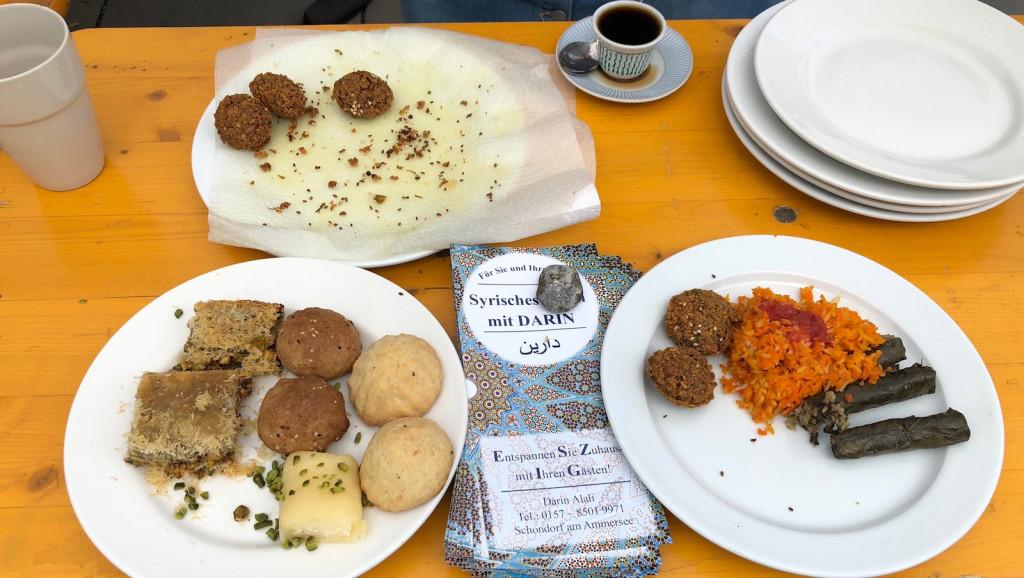 Exotische Köstlichkeiten vom Schondorfer Asylhelferkreis