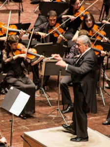 Zubin Mehta and the Buchmann-Mehta Orchester