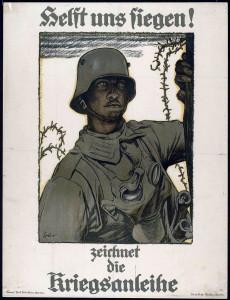 Plakat Kriegsanleihe, Maler Fritz Erler