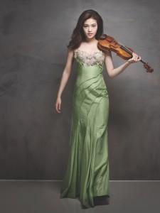 Die Violinistin Ye-Eun Choi
