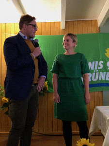 Konstantin von Notz und Katharina Schulze, die Grünen