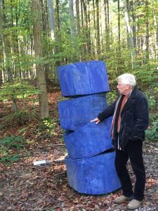 "Ammersee Skulpturenweg ""Turmbau zu Pappel"""