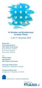 """""""Der See und wir"""" Plakat"""