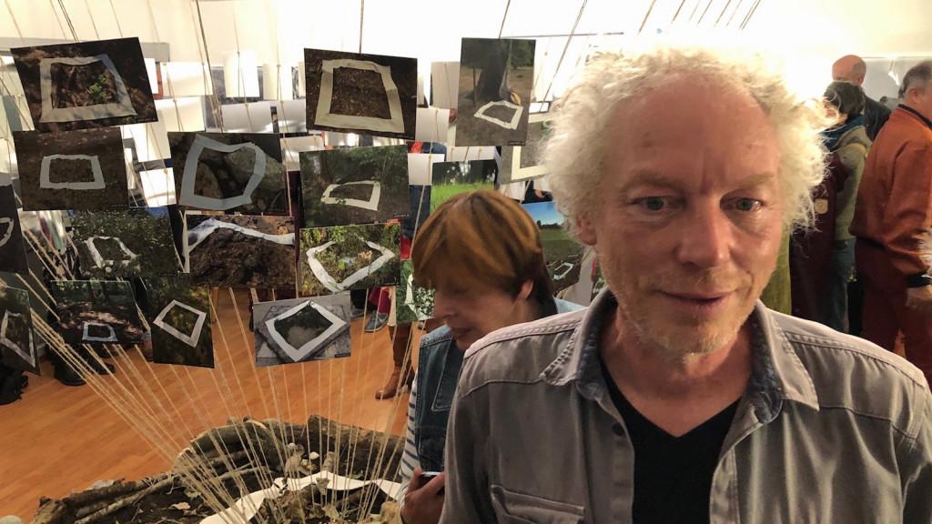 Frank Fischer in der Ausstellung wERDschätzung