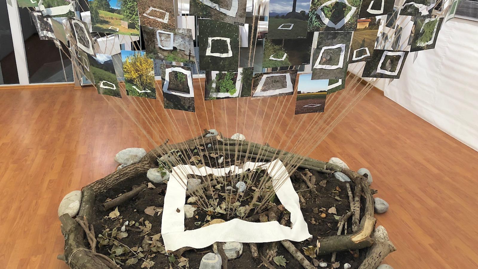 Kunstprojekt wERDschätzung Weilheim Naturfreundehaus