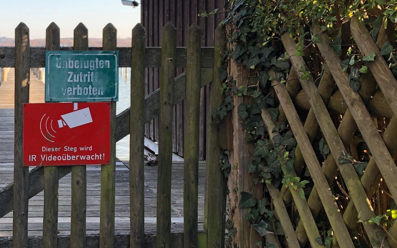 Gefahren am See