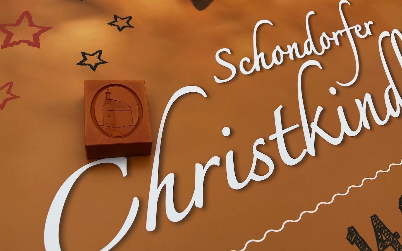 Einhorn Springerle auf dem Christkindlmarkt
