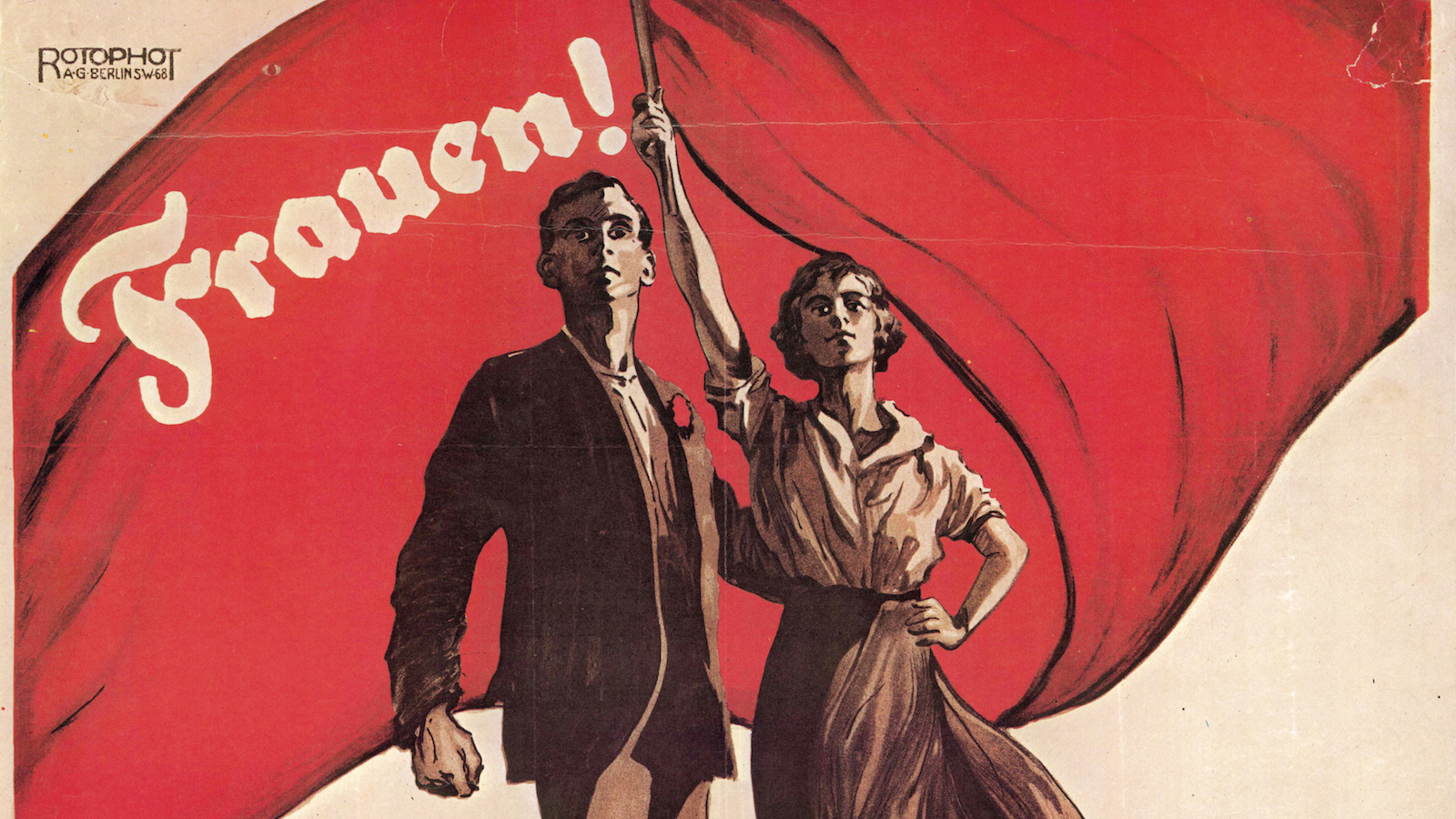 Frauen-Denk-Mal: Wahlplakat der SPD 1919