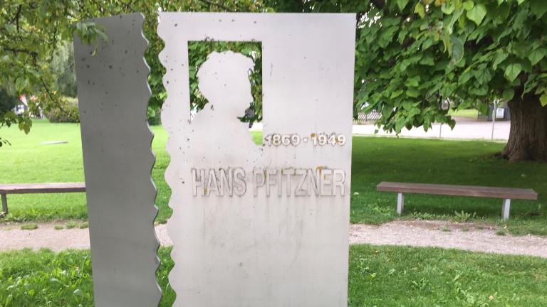 Hans Pfitzner Denkmal in Schondorf