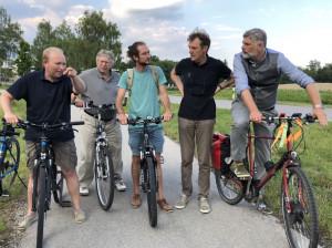 Sicher durch Schondorf Befahrung mit Bürgermeister und Gemeinderäten