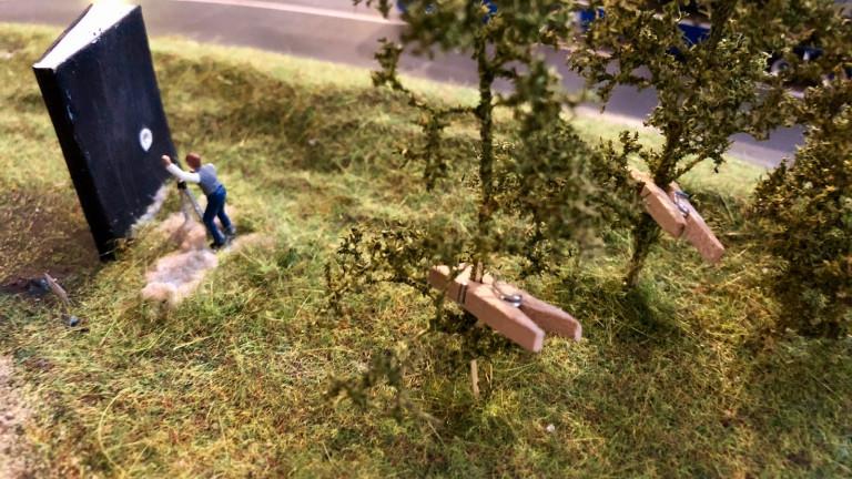 Franz Hartmann Skulptur in Miniatur