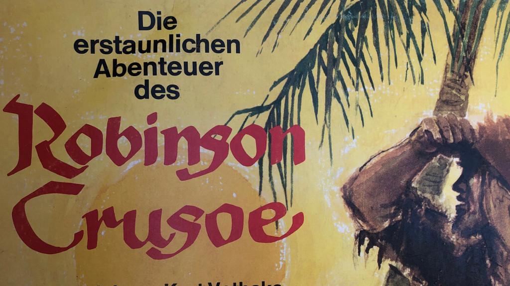 Robinson Crusoe Hörspielplatte