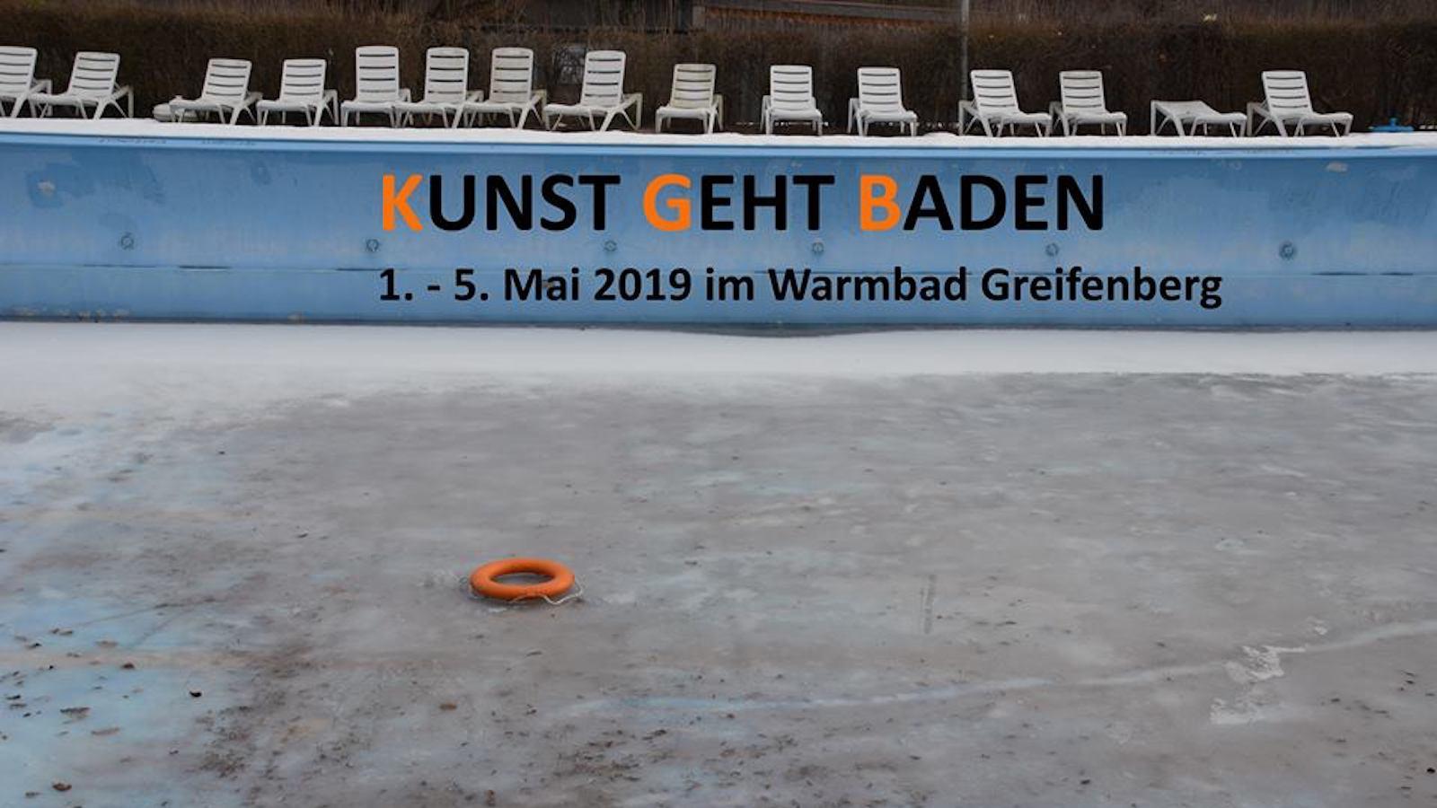 Kunst geht Baden im Warmbad Greifenberg