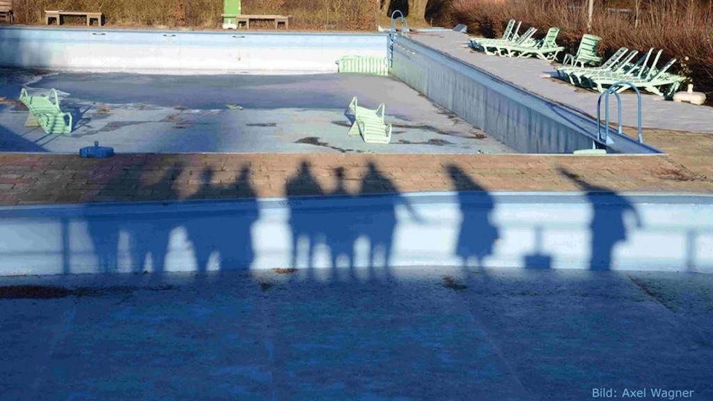 Kunst geht Baden im Freibad Greifenberg