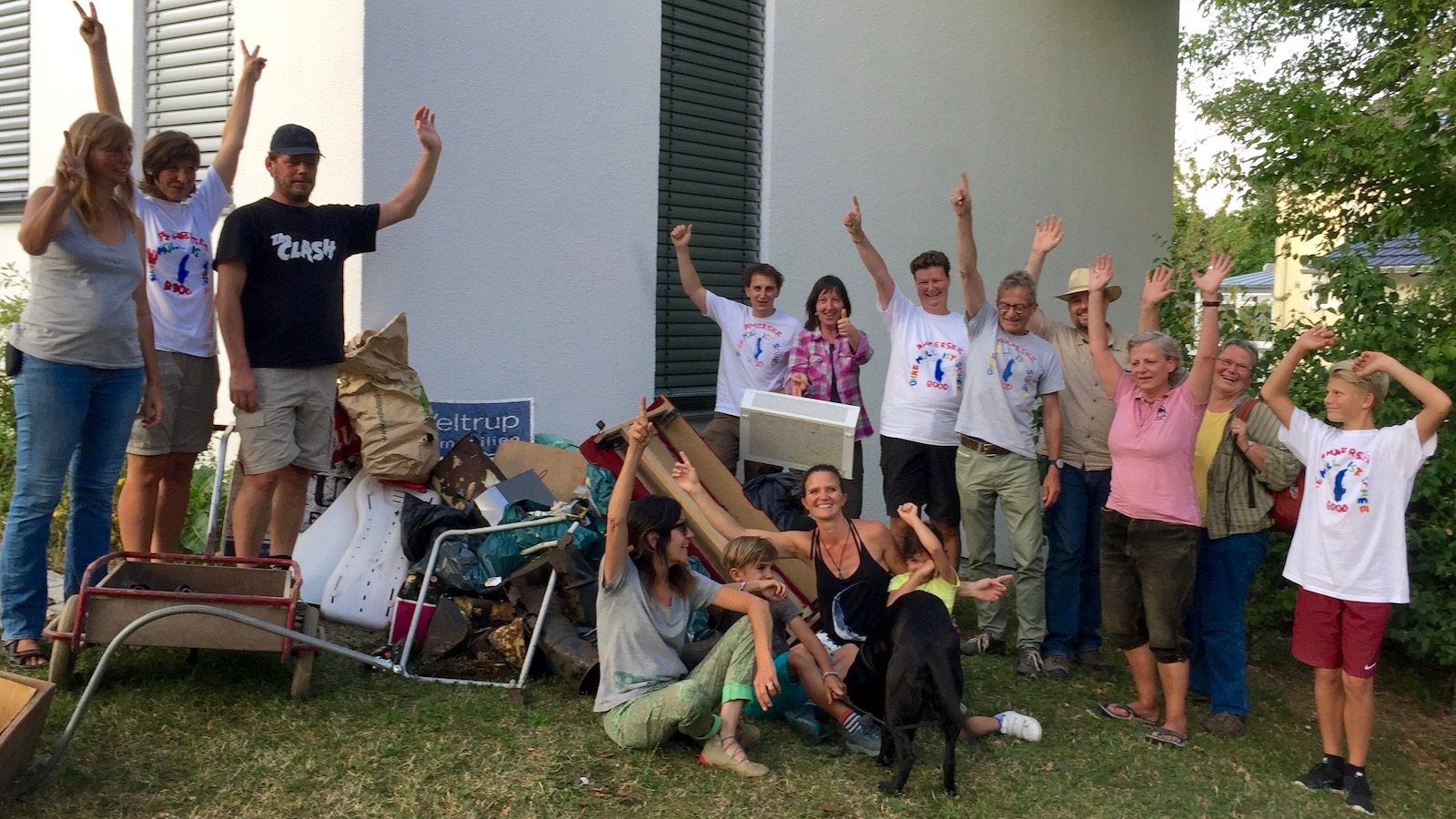 Freiwilliges Müllsammeln 2017