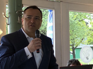 Landrat Eichinger auf der Schondorfer Bürgerversammlung