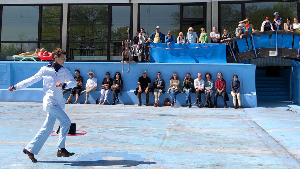 Performance von Gila Stolzenfuß