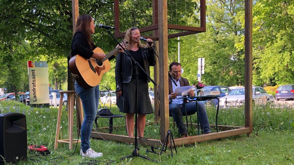 Einweihung Soul Cage in Landsberg