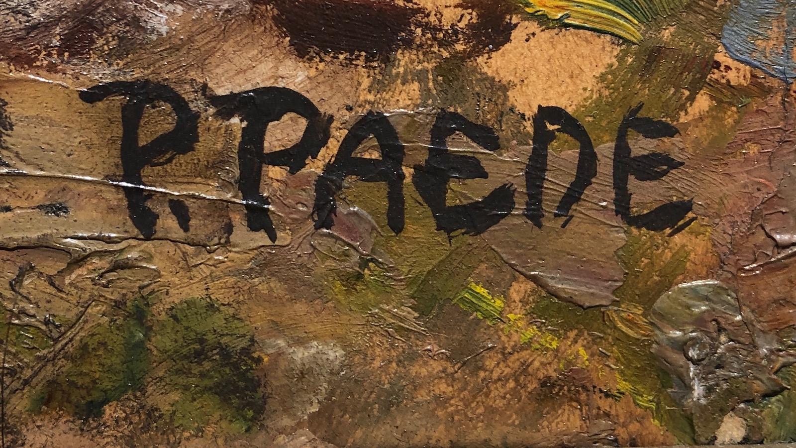 Signatur Paul Paede