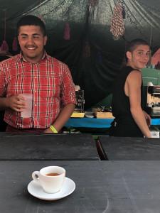 JuCafe Baristas beim Sammersee