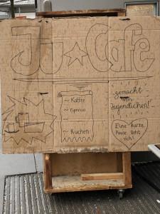 JuCafe beim Wochenmarkt in schondorf
