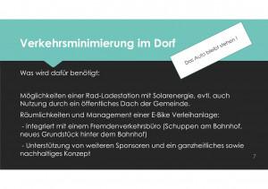 Verkehrsminimierung in Schondorf