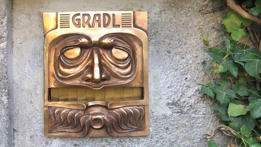 Briefkasten am Gradl-Haus
