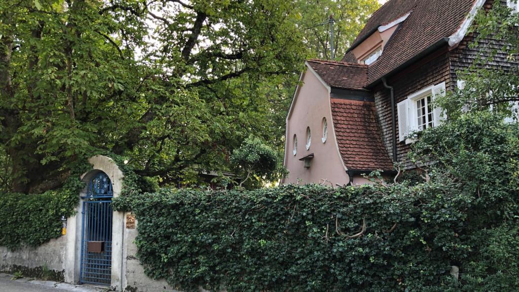 Das Gradl-Haus in Schondorf am Ammersee