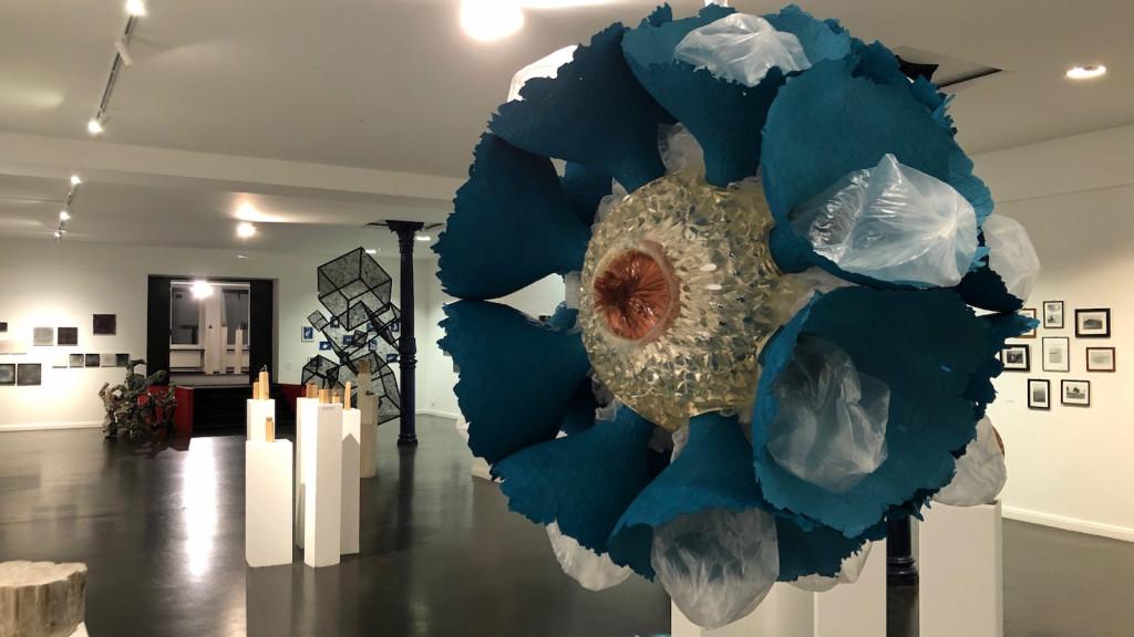 Doris Leuschner Skulptur breath of the ocean