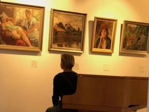 Die von Dr. Silvia Dobler kuratierte Paul Paede Ausstellung im Studio Rose, Schondorf am Ammersee
