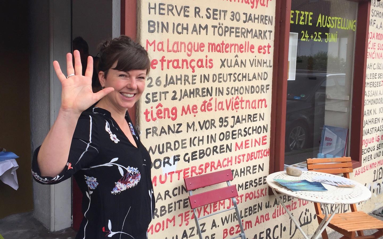 Gratulation an Katharina Ranftl