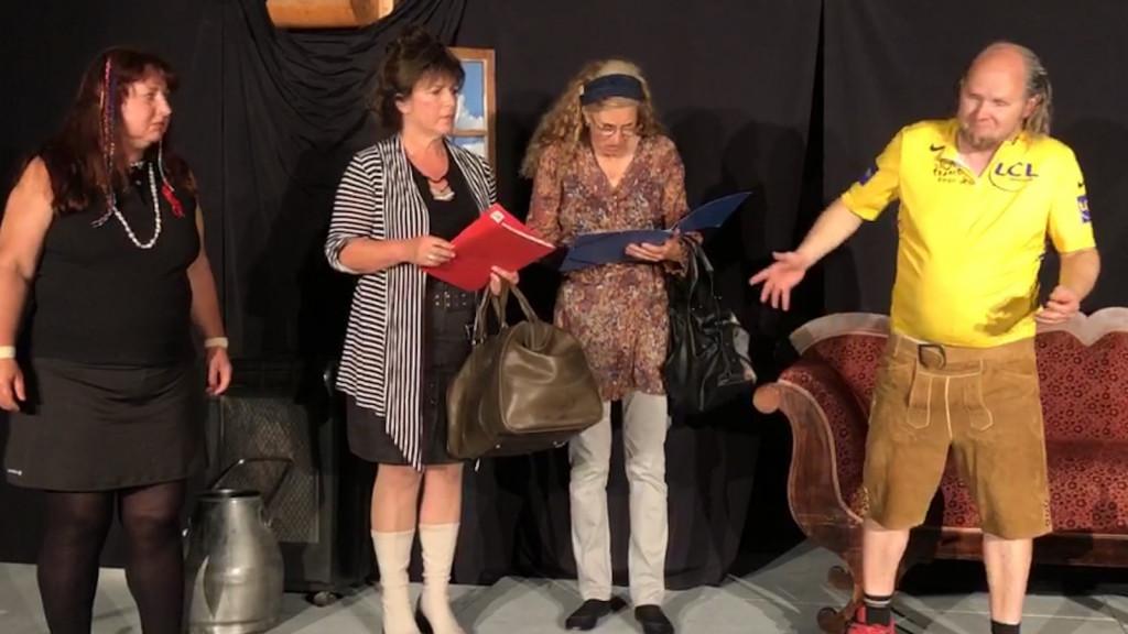 Ammersee Actors Gabi Mau, Ingrid Bauer, Edeltraud Beer und Chris Filser