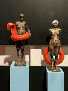 Schwimmer von Franziska Ghirardo