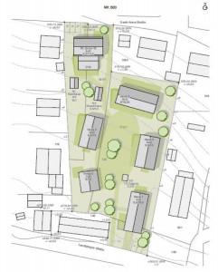 Plan Bauprojekt Jaudelschuster