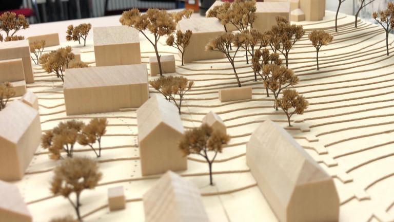Modell Bebauung Landsbergerstrasse Schondorf