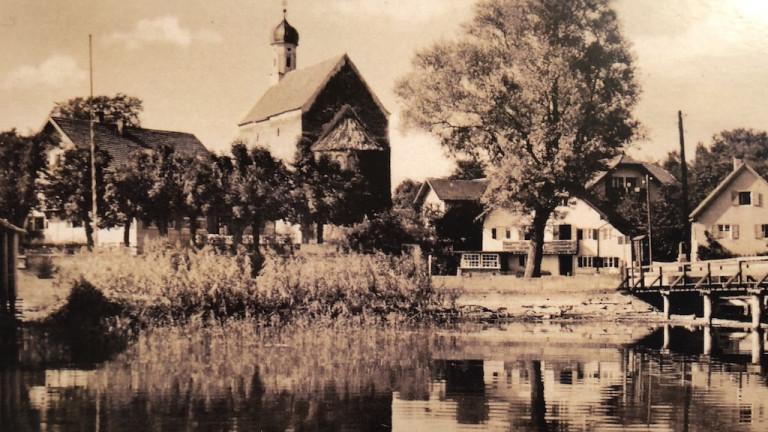 Historische Aufnahme von Schondorf