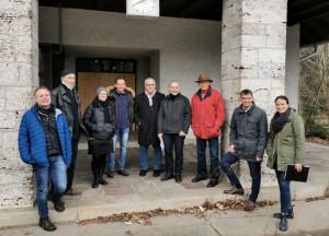 Die Macher von Kunst hält Wache in der Landsberger Nitrocellulose-Fabrik