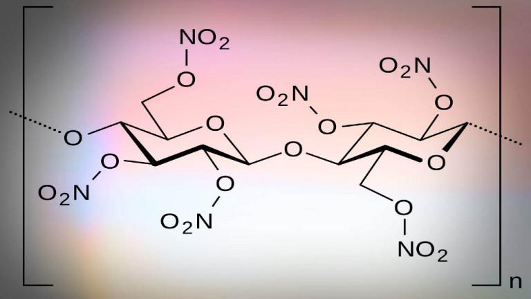 Formel für Nitrozellulose