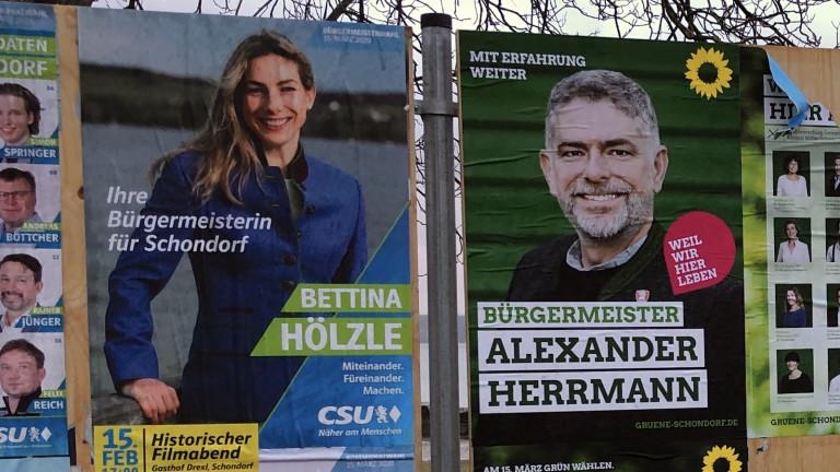 Bürgermeisterwahl in Schondorf 2020