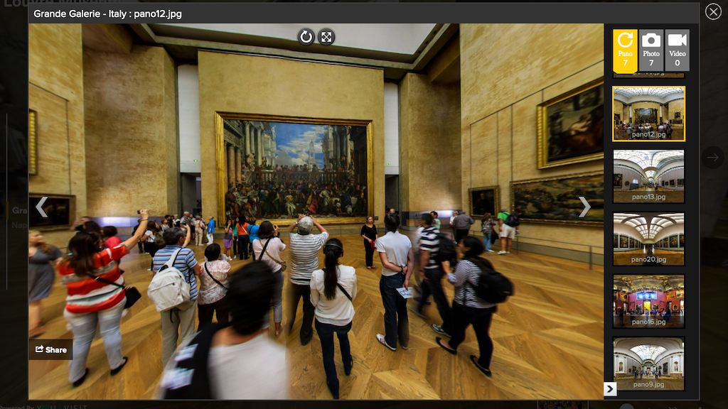 Virtueller Museumsrundgang im Louvre