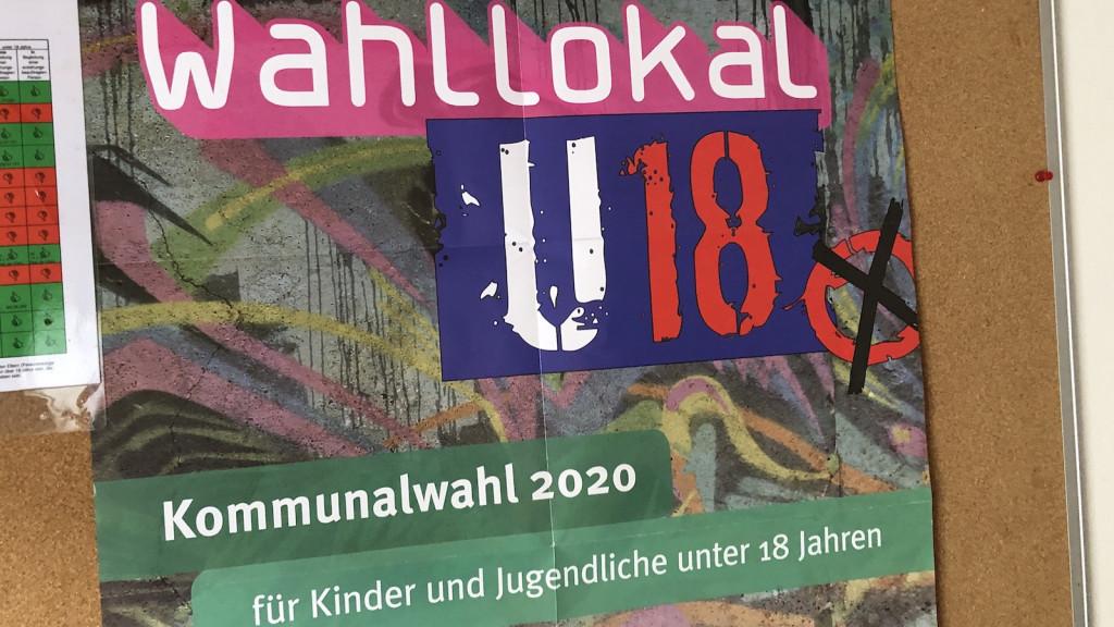 U18 Kommunalwahl 2020