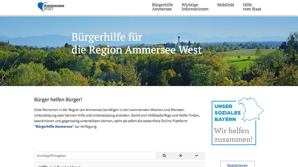 Ammersee West Bürgerhilfe