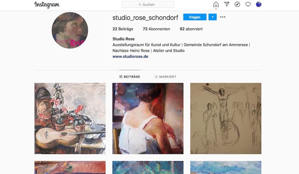 studioRose auf Instagram