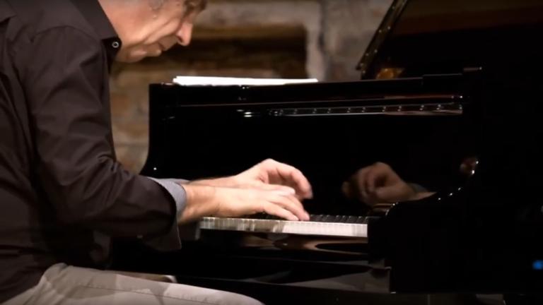 Thomas Schwaiger am Klavier