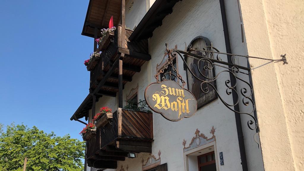 Gasthaus zum Wastl in Schondorf am Ammersee