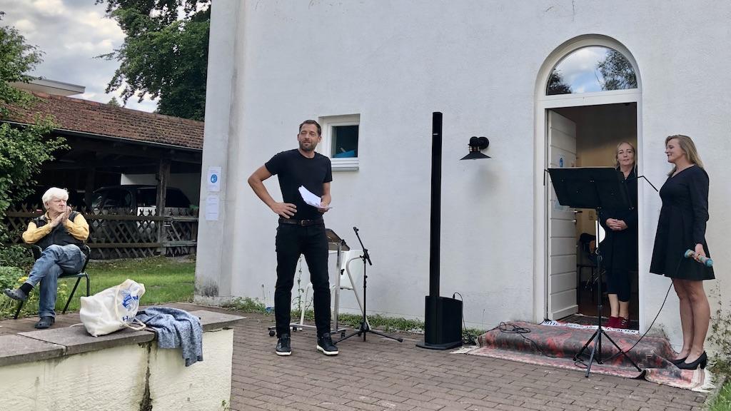 Lesung und Musik im studioRose in Schondorf