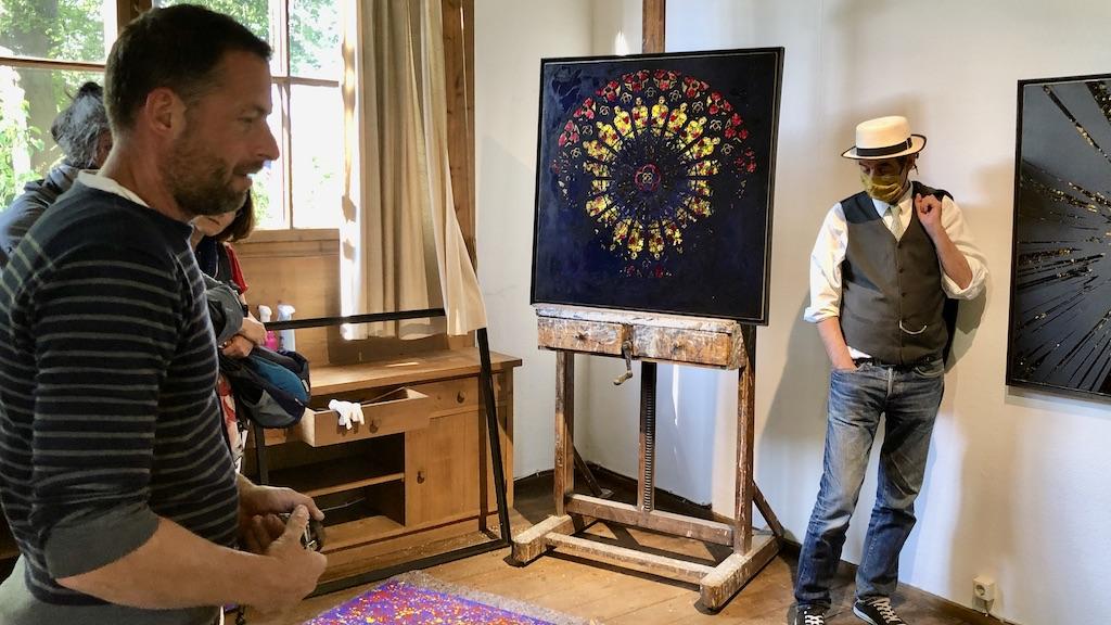 Jan Davidoff und Gregor Netzer im atelierRose